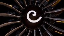 KLM Boeing 787-9 Dreamliner Motor fanblades