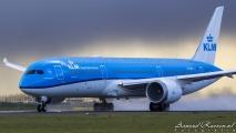 Vertrek 2e KLM Boeing 787 Welcome Flight
