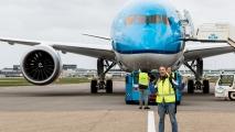 Ik en de 787. (© Max Fotografie)