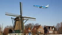 KLM MD-11 & Windmolen