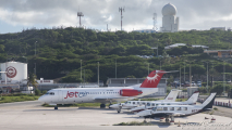 Vliegtuigen op Hato
