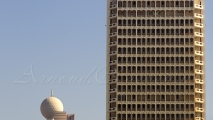 Etisalat Tower (L) & World Trade Center (R)