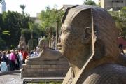 03 - Sphinxen voor het Egyptisch Museum