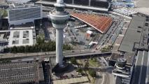 Overzicht over Schiphol