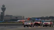 De runway-run op Schiphol
