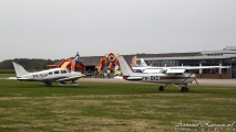 Feest met vliegtuigen!