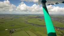 Mooi uitzicht over Friesland