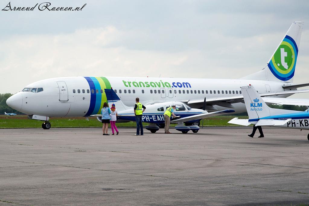 Transavia gaat weer weg