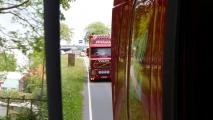 Rondje met de vrachtwagen