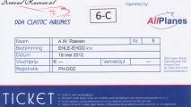 Boarding pass DC3
