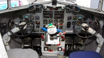 KLM DC-3 cockpit