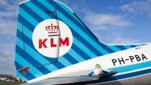 KLM DC3 in mooi zonlicht