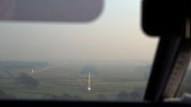 Finals runway 04 EHV