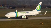 Transavia B738 op Eindhoven