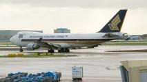 Singapore Airlines Cargo 747F.