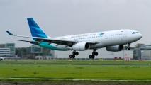 Vanuit Indonesië via Dubai naar Schiphol