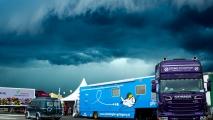 Regen op TT Circuit Assen