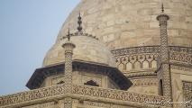 Detail van de Taj Mahal