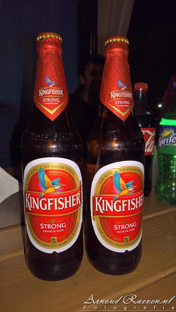 Mooie maat biertjes in India!