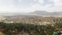 Uitzicht vanaf Karla Caves