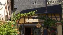 Een 'weinstube' in Runkel