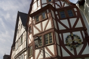 Scheve huisjes in Limburg