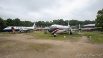 Vickers Viscount 806  (G-APIM) #L  & Vickers Vanguard 953C (G-APEP) #R