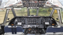 Cockpit - Vickers Vanguard 953C (G-APEP)