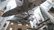 Imperial War Museum - Spitfire & BAe Harrier