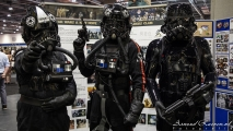 Comic Con - Star Wars (Tie Fighter Pilots)
