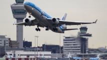 Laatste lijnvlucht met passagiers vanaf Schiphol met een MD-11