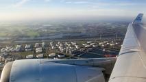 Europoort gezien vanuit de MD-11