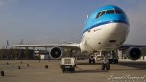 De ander MD-11 stond er ook mooi bij in het zonlicht!