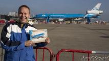 Ik met toch wel een beetje 'mijn' boek & de MD-11