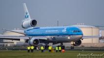 Landing van de laatste vlucht...