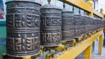 Gebedsmolentjes bij Boudhanath Tempel