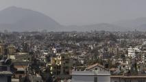 Uitzicht over Kathmandu