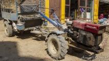 Apart soort tractor