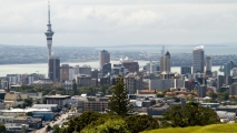 Auckland vanaf Mount Eden