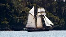 Het piraten schip van Ruud & Jolanda