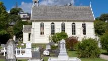 De eerste kerk van Nieuw-Zeeland