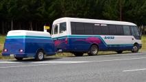 De bus op het noorder eiland