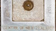 Het middelpunt van Nieuw-Zeeland