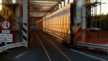 Auto/trein brug