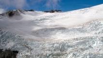 Eeuwige sneeuw op 3km hoogte