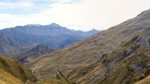 Uitzicht over een vallei