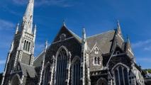 Kerk bij George street in Dunedin