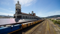 Treinstation van Dunedin