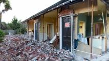 Christchurch, verwoest huis