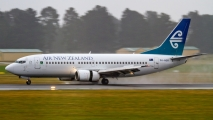 ZK-NGR, arriveert op Christchurch airport
